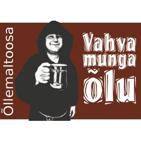 Õllekomplekt Vahva munga õlu